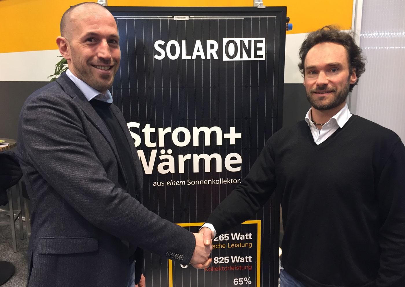 Ronald Gattringer, Geschäftsführer von Gasokol, und Alexander Friedrich, Geschäftsführer von 3F Solar.