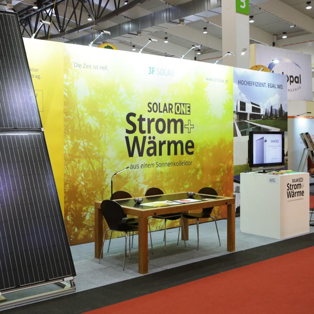 3F Solar Technologies auf der Energiesparmesse 2016