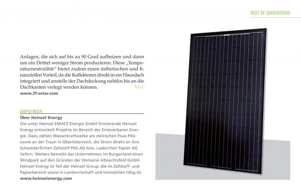 der 3F Solar Hybridkollektor