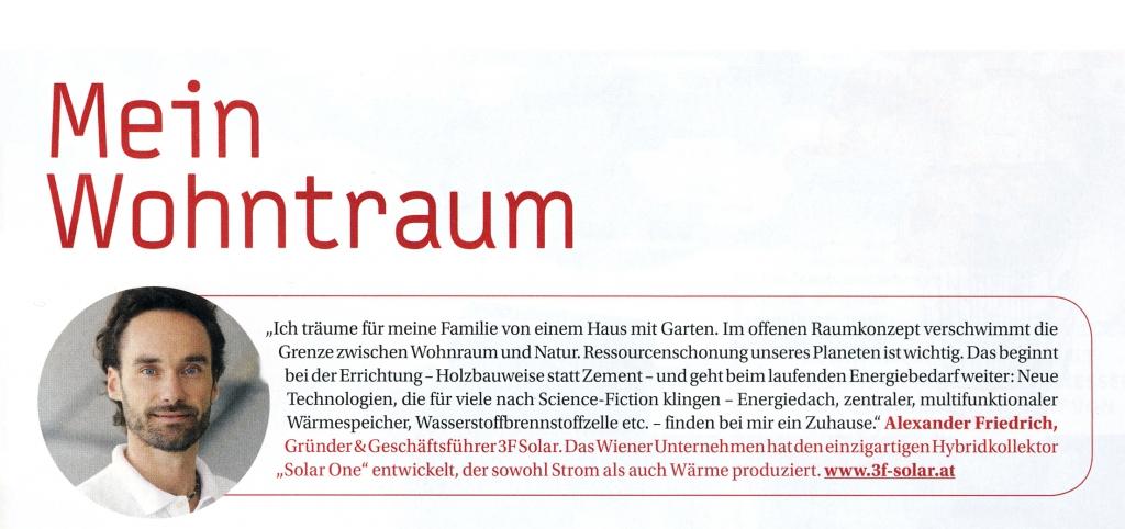 Alexander Friedrich im Wohnzeit Magazin